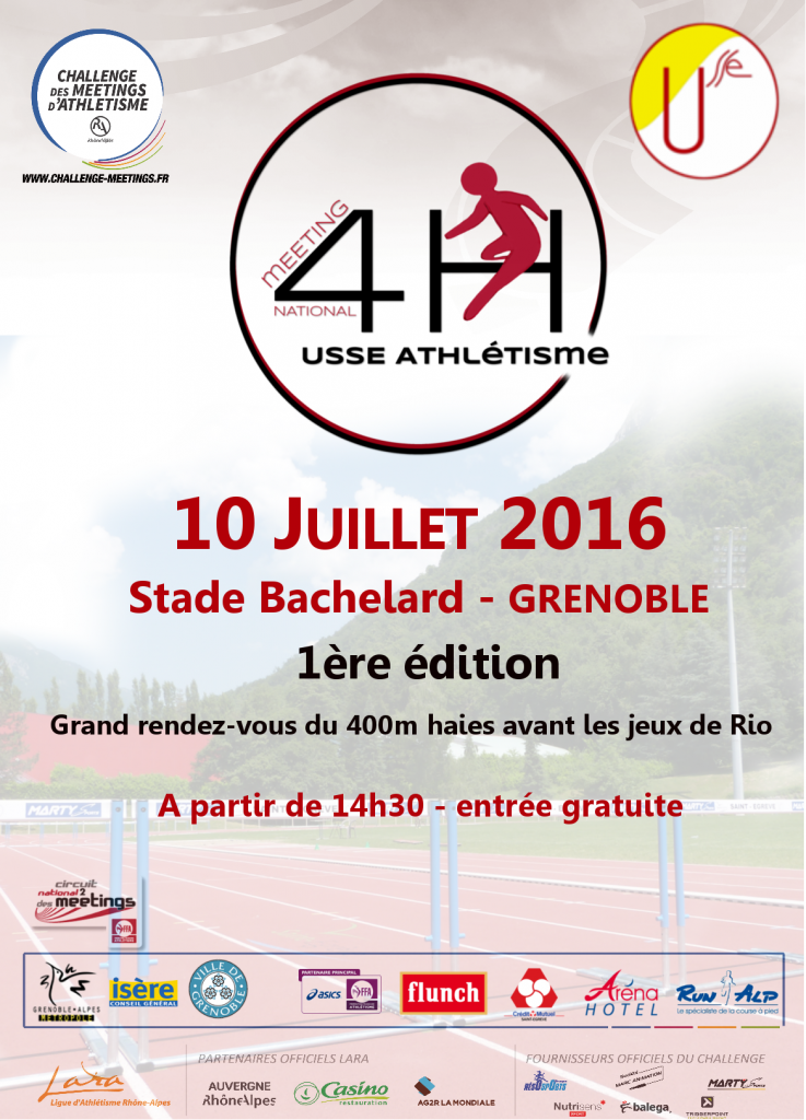 Affiche meeting 4H
