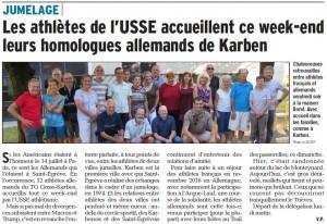 L'article du 17 juillet du Dauphiné Libéré