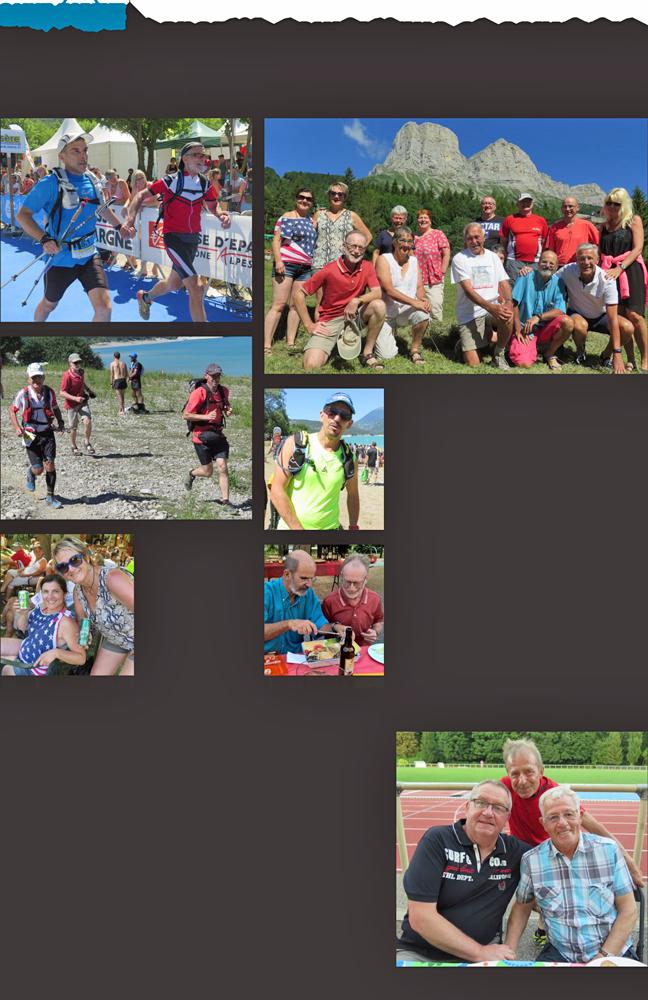 Week-end sportif, touristique et convivial pour les athlètes de Karben et de l'USSE