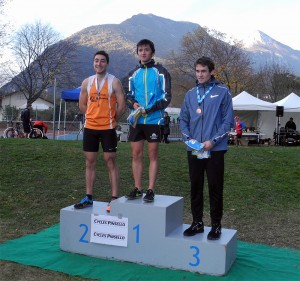 Cross de la Ville de Saint-Egrève: podium AS hommes