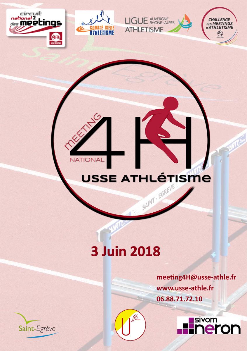 Meeting National 4H Saint-Egrève 3 juin 2018 Document Partenariats