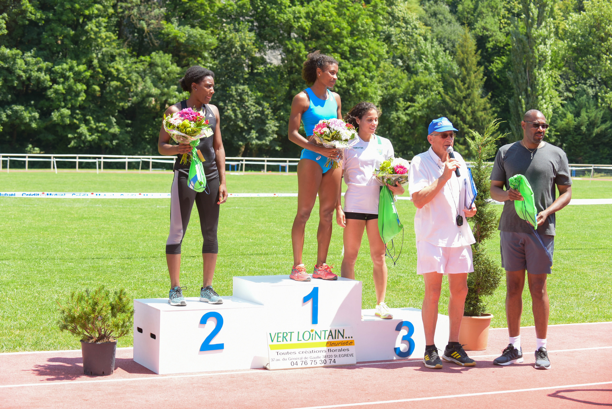 Meeting National 4H Saint-Egrève 2018 podium femmes