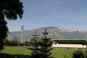 Le stade Jean Balestas de Saint-Egrève
